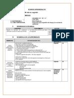 SESION  DE  APRENDIZAJE  Nº 22 DEFENSA DE LA DIGNIDAD.docx