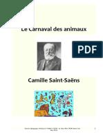 Dossier Pédagogique Carnaval Des Animaux