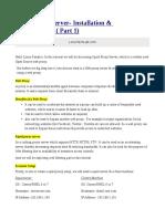 Squid Proxy Installation & Configuration