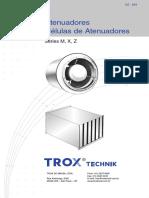 Atenuadores de Ruído Trox - Msx