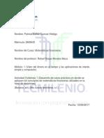 Evidencia 1 Matematicas Financieras