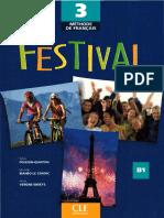 Festival 3 B1 Methode de Francais - Livre de l'Eleve OCR