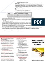 Brochure - Electrical Permit Homeowner