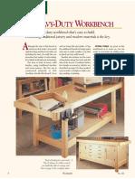 A Heavy Duty Workbench