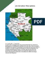 Le cinquantenaire du Gabon