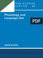 Bybee Joan- Phonology and LanguageUse((2004).pdf