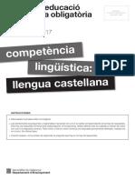 Prova Castella 4ESO 2017