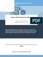 Team Working Excellence Workbook