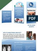 Leaflet Miastenia Gravis