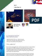Takzira Ramadan 10, 11 & 12