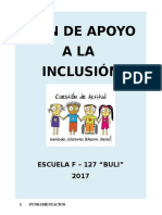 Plan Inclusión 2017