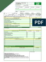 Formulario 220 a Empleados Ano Gravable 2015
