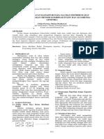 ANALISIS PENENTUAN PELETAKAN KAPASITOR OPTIMUM UNTUK MEMPERBAIKI JATUH TEGANGAN DAN MEMINIMALKAN RUGI-RUGI DAYA PADA SISTEM DISTRIBUSI MENGGUNAKAN PROGRAM ELECTRIC TRANSIENT ANALISYS PROGRAM