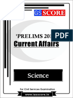 Science - PT Current Affairs 2017