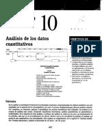 Sampieri - Metodología de La Investigación, Capítulo 10 Análisis de Los Datos Cuantitativos (1)