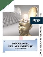 Cuestionarios de psicologia de aprendizaje