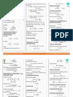 Formulario 3er Parcial Fis 102