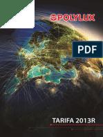 201301 Polylux Tarifa 2013r