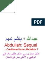 """Abdullah Part 2 (Sequel) """"COMPLETE NOVEL"""""""