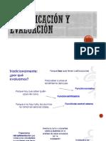 planificacion y evaluación
