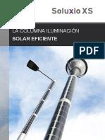 Soluxio XS - La columna iluminación solar eficiente