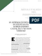 Mitos y Falsedades Del Independentismo