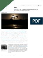 Energías renovables ¿Se acabó la gasolina?