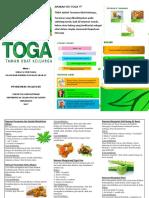 Leaflet Penyuluhan TOGA