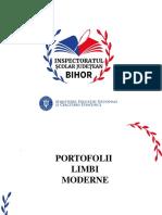 Portofolii - Limbi Moderne