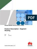 NE40E Feature Description - Segment Routing