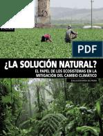 Solucion Natural Ecosistemas Mitigacion Cambio Climatico Es