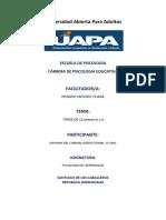 Pscologia Del Aprendizaje Unidad III y IV Johanny