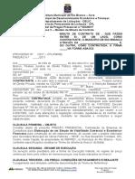 Licitação da Prefeitura de Rio Branco