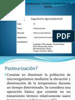 pasteurizacion ....pptx