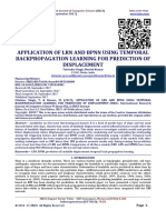 APPLICATION OF LRN AND BPNN USING TEMPORAL BACKPROPAGATION LEARNING FOR PREDICTION OF DISPLACEMENT