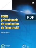 Couts Previsionnels de Production de l'Electricite 2010-6610032e
