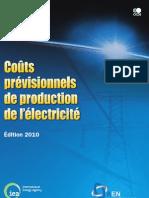 Couts Previsionnels de Production de l'Electricite 2010-6610032e