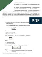 Metodo de Thornthwaite formulas