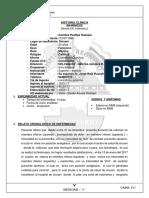 Historia Clinica Nefro