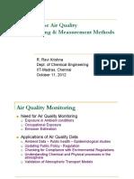 Rrk-measurement of Gaseous Pollutants