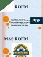 Presentation Mas Roem