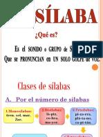 LA SÍLABA 2