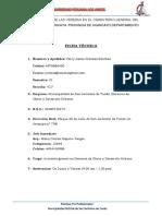 Primer Informe Municipalidad de San Jeronimo
