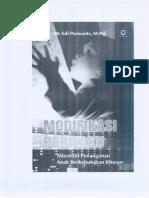 Buku Modifikasi Perilaku (Isbn 978 602 229 151 0)