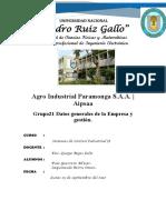 Agro Industrial Paramonga S