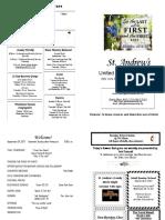 St Andrews Bulletin 0924