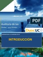 Planificación de Una Auditoria Tributaria - Auditoria de IVA