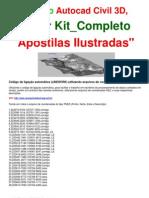 AutoCAD Civil 2010 | Ligação Automática de Pontos _ Comando LINEWORK | Kit 5 DVDs Completos! Frete Grátis!!!