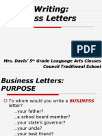 Business Letters