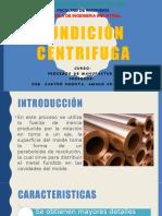 Fundición centrifuga